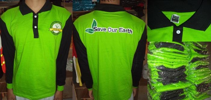 Kaos Pecinta Lingkungan