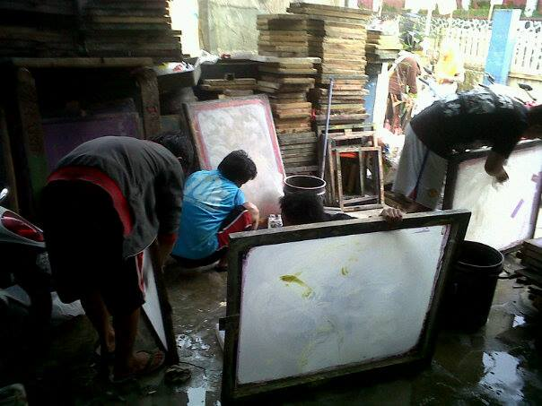 sablon manual di pekanbaru