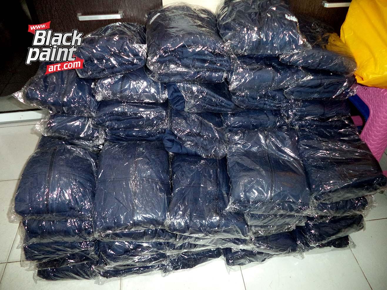 Memang sih di Pekanbaru itu ada beberapa tempat sablon jaket.