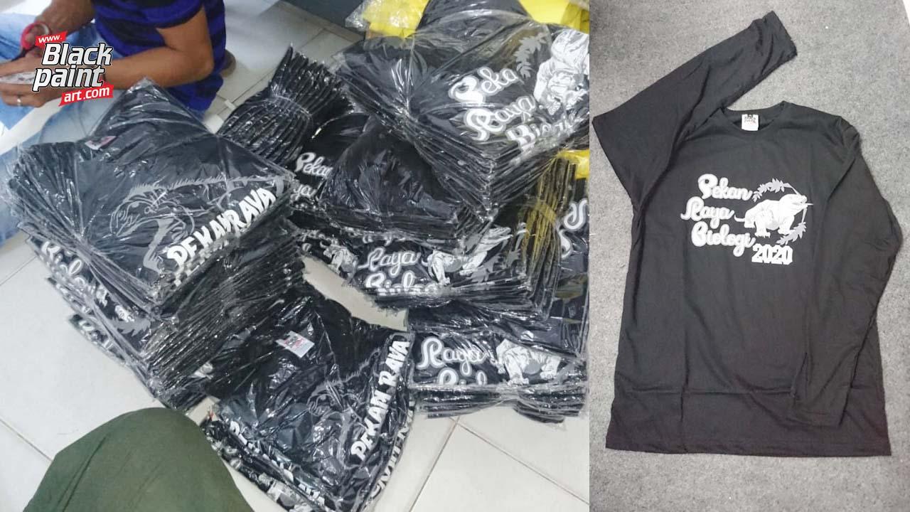 Ada beberapa tempat sablon baju kaos lengan panjang di Pekanbaru, salah satunya adalah Blackpaint Art.