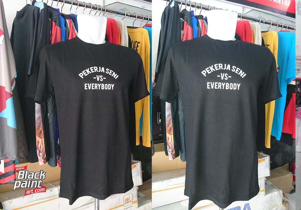 Saat ini ada banyak tempat sablon baju kaos di Pekanbaru, salah satunya adalah Blackpaint Art.