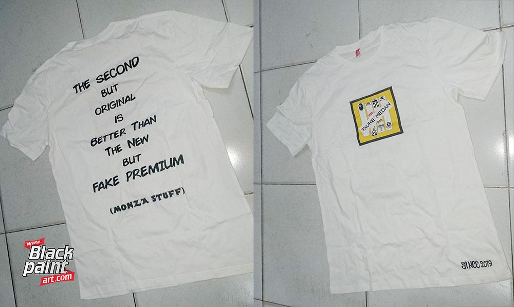 28. Sablon Baju Kaos Pekanbaru